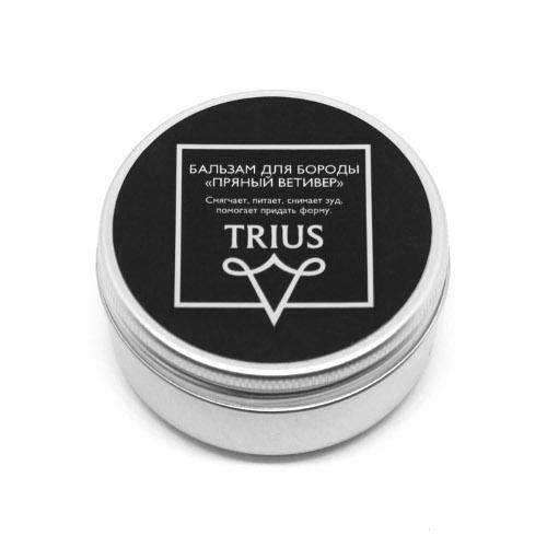 Бальзам для бороды пряный ветивер trius (Trius)