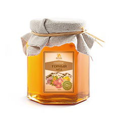 Мед горный 250 гр янтарь (Янтарь)