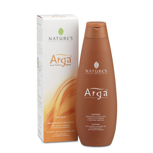 Arga деликатный гель для душа и ванны hamam nature's