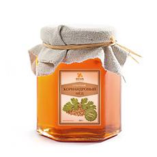 Мед кориандровый 500 гр янтарь (Янтарь)
