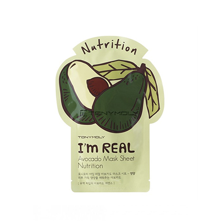 �������� ����� ��� ���� ������� i'm real avocado mask sheet tony moly (Tony Moly)