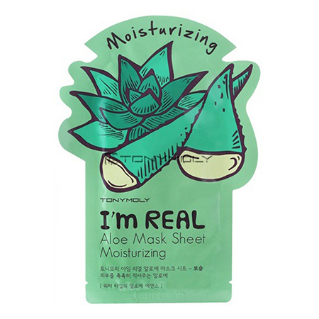 �������� ����� ��� ���� ���� i'm real aloe mask sheet tony moly (Tony Moly)