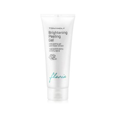 Пилинг-гель для лица осветляющий (скатка) floria brightening peeling gel tony moly (Tony Moly)