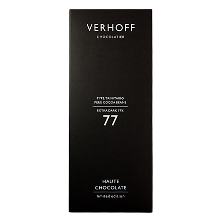 Темный шоколад 77% verhoff