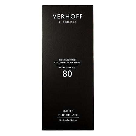 Темный шоколад 80% verhoff