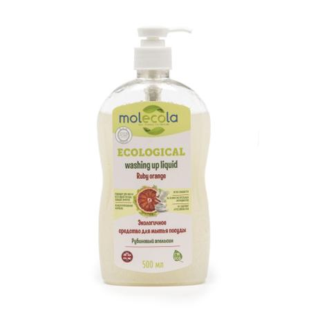 Средство для мытья  посуды ruby orange рубиновый апельсин экологичное molecola (Molecola)