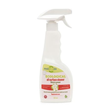 Универсальный спрей для дома nature power природная сила экологичный molecola пробиотики для уборки дома