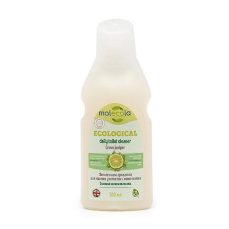 Средство для чистки унитазов и сантехники green juniper зеленый можжевельник экологичное molecola (Molecola)