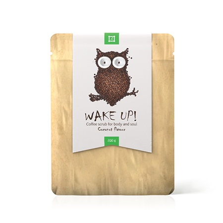 ����� ��� ���� � ���� wake up coffee scrub coconut almea (Almea)