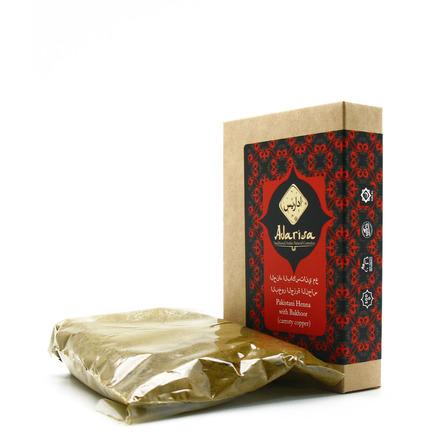 Пакистанская хна для волос с бахуром (рыже-медная) adarisa недорого