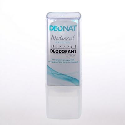 Минеральный дезодорант кристалл чистый travel stick 40 гр deonat (DeoNat)