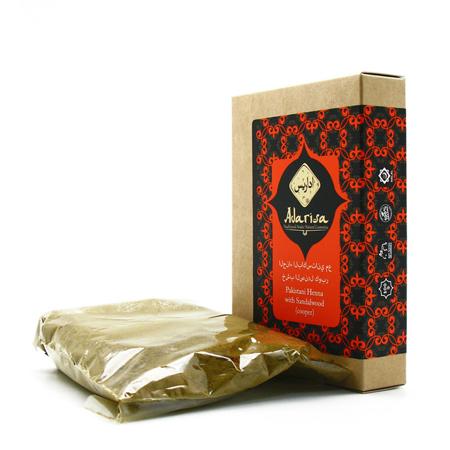Пакистанская хна для волос сандалом (медная) adarisa недорого