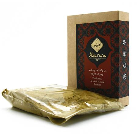 Традиционная йеменская хна (коричневая) adarisa индийская хна аша купить в владивостоке