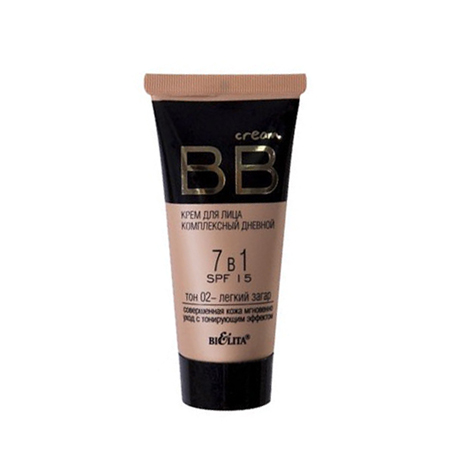 Bb крем для лица комплекс дневной 7 в 1 spf 15 (тон легкий загар) белита - витекс от DeoShop.ru