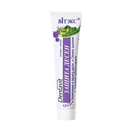 Зубная паста фторсодержащая кора дуба + шалфей - защита десен белита - витекс
