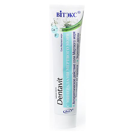 Зубная паста f с минералами мертвого моря белита - витекс
