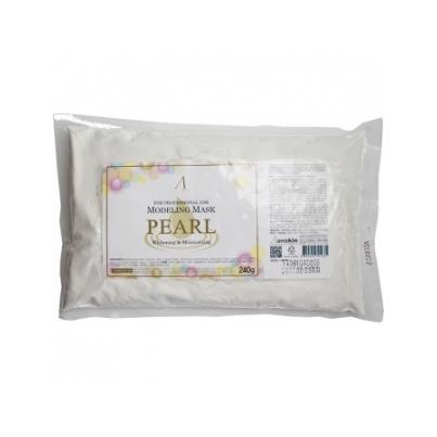 Маска альгинатная с экстрактом жемчуга увлажняющая и осветляющая (пакет) 240гр pearl modeling mask anskin (ANSKIN)