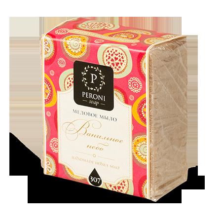 Мыло «ванильное небо» peroni мёд суфле смородина 30 мл peroni honey