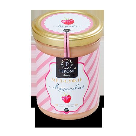 Мёд-суфле малиновый peroni