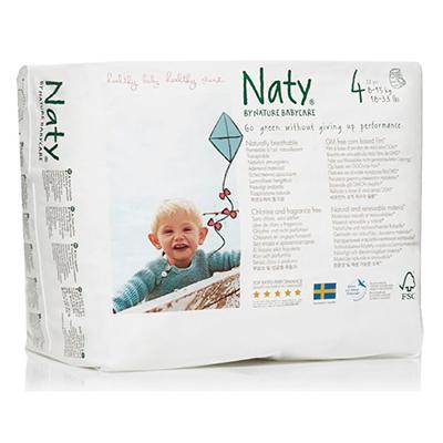 Подгузники-трусики размер 4 (8-15 кг) 36 шт naty D11598