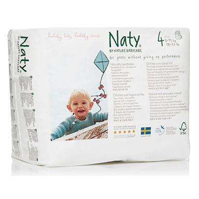 Подгузники-трусики размер 4 (8-15 кг) 36 шт naty