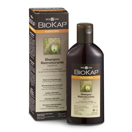 Шампунь восстанавливающий для окрашенных волос biokap nutricolor biosline NS011