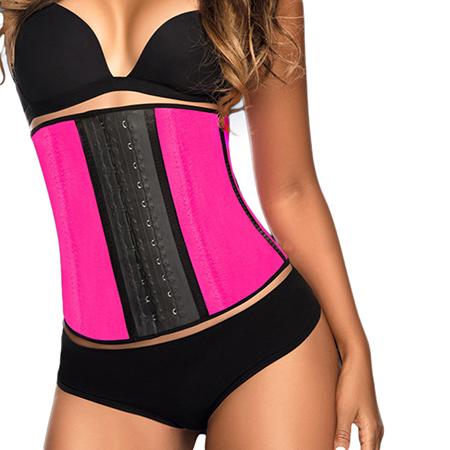 Тренировочный корсет розовый (размер m) waist trainer