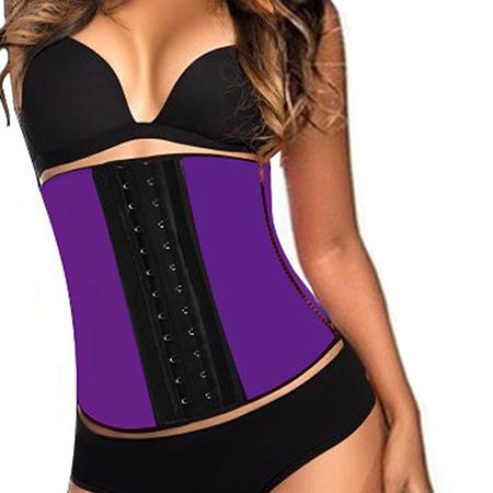 Тренировочный корсет фиолетовый (размер l) waist trainer (Waist Trainer)