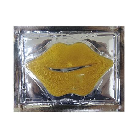 Коллагеновая маска для губ антивозрастная с биозолотом секреты лан (Секреты Лан)
