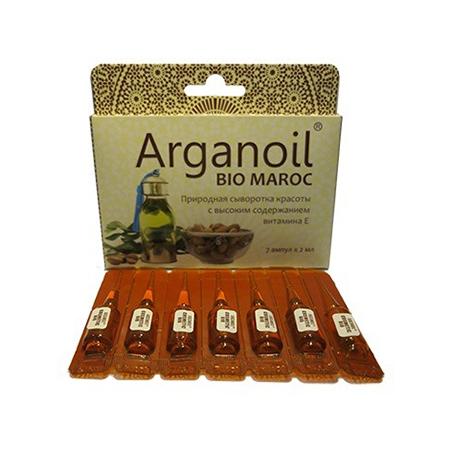 Аргановое масло косметическое в ампулах argana недорого