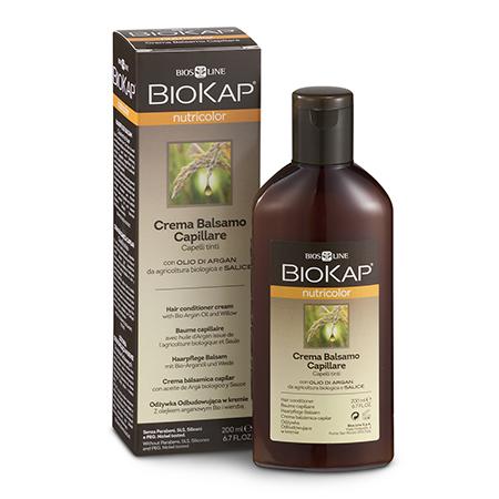 Кондиционер-бальзам для окрашенных волос biokap egomania кондиционер на пике красоты для тонких после химической завивки волос 250 мл