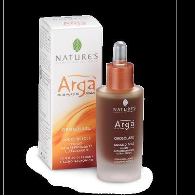 Arga лосьон автозагар с аргановым маслом и гиалуроновой кислотой natures (Natures)