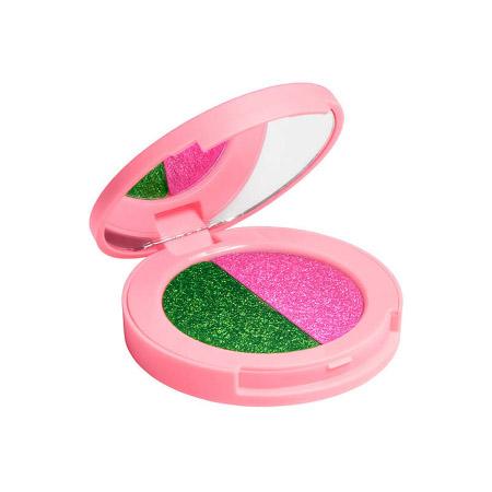 Двойные тени для век superfoil lawn/flamingo lime crime от DeoShop.ru
