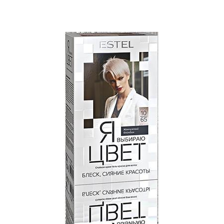 Крем-гель краска для волос я выбираю цвет (тон 10/65 жемчужный блондин) estel (Estel)