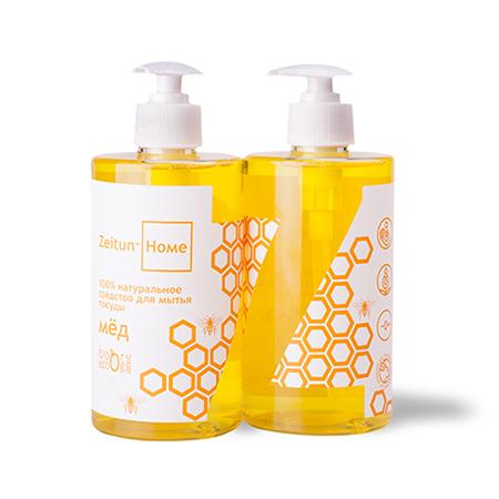 Натуральное средство для мытья посуды мёд зейтун