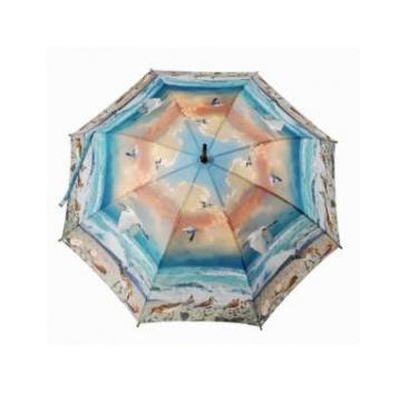Зонт-трость природа на побережье galleria printio зонт трость с деревянной ручкой