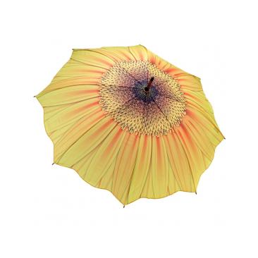 купить Зонт-трость цветок подсолнух galleria недорого