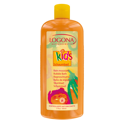Детская пена для ванны logona