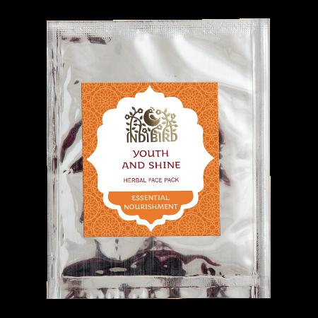 Травяная маска для лица молодость и сияние амрита