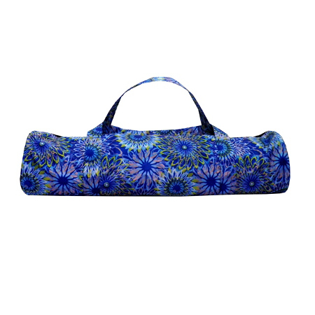 Сумка для коврика индира (голубая) yoga