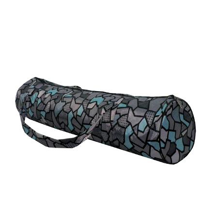 Сумка для коврика индира (серая) yoga