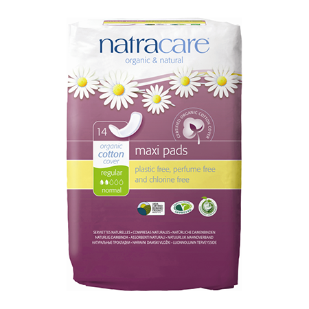 ����������� ������� ��������� natural pads curved natracare (Natracare)