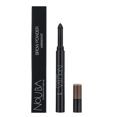Тени-карандаш для бровей водостойкие (тон №1) brow powder nouba (Nouba)