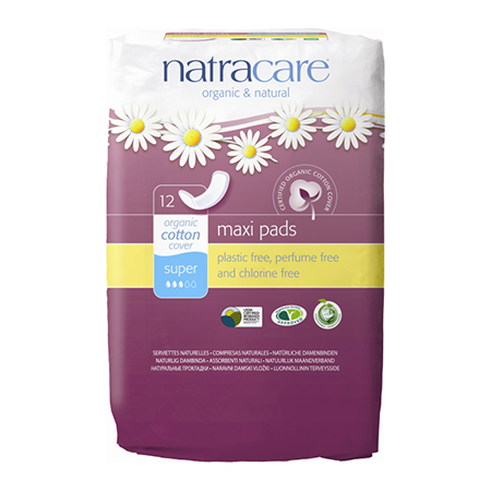 ����������� ������� ��������� natural pads super natracare (Natracare)