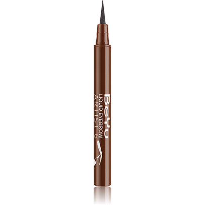 Фломастер для бровей liquid eyebrow artist (тон 6) beyu