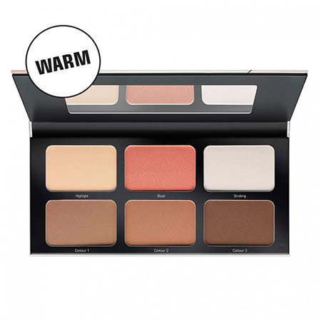 Палетка для контуринга и стробинга №2 most wanted contouring palette artdeco от DeoShop.ru