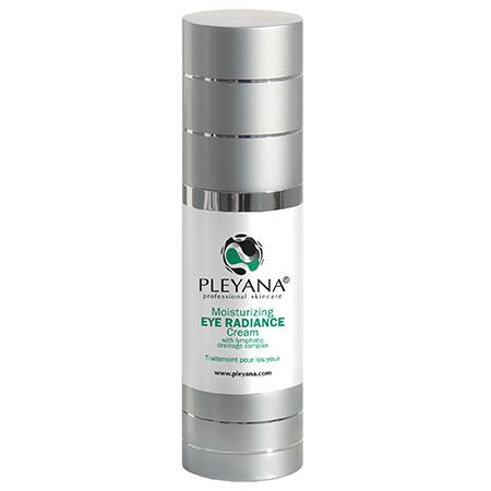 Увлажняющий крем-сияние для контура глаз с лимфодренажным комплексом pleyana недорого