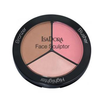 Многофункциональное средство для макияжа лица face sculptor (тон 02 cool pink) isadora