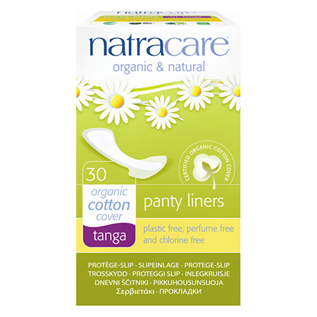 Натуральные женские прокладки panty liners tanga natracare natracare ежедневные прокладки panty liners mini 30 шт