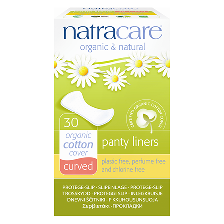 ����������� ������� ��������� panty liners curved natracare (Natracare)
